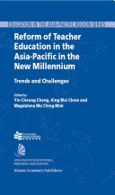 Pdf Reform of Teacher Education in the Asia-Pacific in the New Millennium