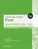 Cambridge English  First Masterclass  Workbook Pack with Key