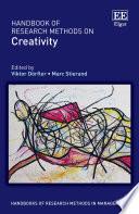 Handbook of Research Methods on Creativity Book
