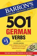 501 German Verbs, 4th Ed.