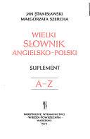 Pdf Great English-Polish Dictionary