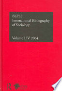 IBSS: Sociology: 2004 Vol. 54