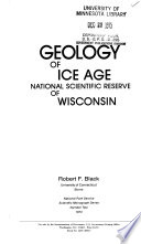 Geology of Ice Age National Scientific Reserve of Wisconsin