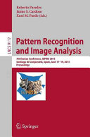 Pattern Recognition and Image Analysis Book