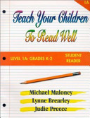Teach Your Children to Read Well Level 1A Book
