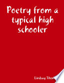 Poetry from a typical high schooler Pdf/ePub eBook