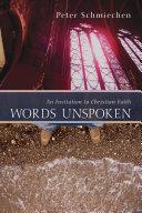 Words Unspoken [Pdf/ePub] eBook