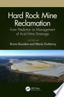 Hard Rock Mine Reclamation Book PDF