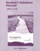 Prealgebra Student's Solutions Manual