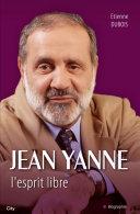 Pdf Jean Yanne L'esprit libre Telecharger