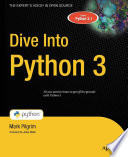 Dive Into Python 3 by Mark Pilgrim PDF