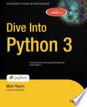 Dive Into Python 3 by Mark Pilgrim PDF