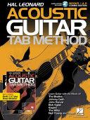 Hal Leonard Acoustic Guitar Tab Method Combo Edition Books 1 2 With Online Audio Plus Bonus Material Book PDF