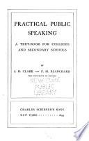 Practical Public Speaking
