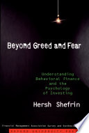 Beyond Greed and Fear Book