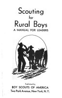 Scouting for Rural Boys