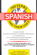750 Spanish Verbs and Their Uses