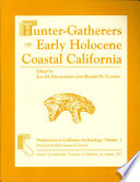 Hunter Gatherers of Early Holocene Coastal California Book
