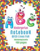 ABC Kindergarten Notebook