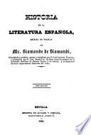 Historia de la literatura española, 2
