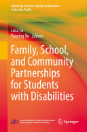 Family  School  and Community Partnerships for Students with Disabilities