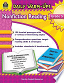 Nonfiction Reading, Grade 5