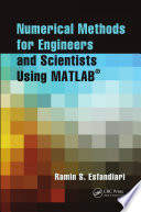 Numerical Methods For Engineers And Scientists Using Matlab  Book PDF
