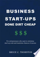Business Start-ups Done Dirt Cheap
