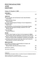Psychoanalysis And History