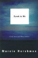 Speak to Me Book