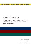 Foundations of Forensic Mental Health Assessment - Seite 148