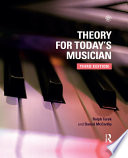 Theory for Today s Musician Textbook