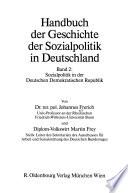 Handbuch der Geschichte der Sozialpolitik in Deutschland: Sozialpolitik in der Deutschen Demokratischen Republik