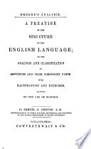 A Treatise on the Structure of the English Language