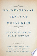 Foundational Texts of Mormonism