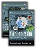 Handbook of Food Processing, Two Volume Set