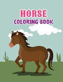 Horse Coloring Book Book PDF