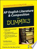 Ap English Literature Composition For Dummies Book PDF