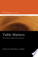 Table Matters Book