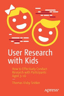 User Research with Kids Book