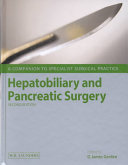 Hepatobiliary And Pancreatic Surgery Book PDF