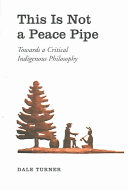 This is Not a Peace Pipe