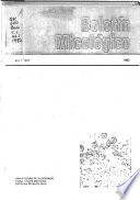 Boletín micológico  , Bände 1-3