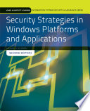 Security Strategies in Windows Platforms and Applications Book