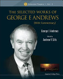 The Selected Works of George E  Andrews