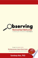 Observing Nonverbal Behavior Book