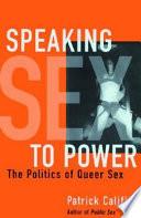 Speaking Sex To Power