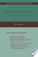 The Social Life Of Poetry