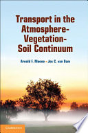 Transport in the Atmosphere Vegetation Soil Continuum Book