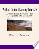 Writing Online Training Tutorials